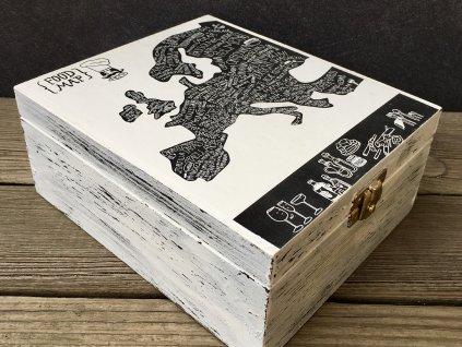 dárková kazeta dřevěná