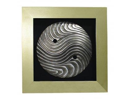 529 dekorace m kovovy disk 60x60x4