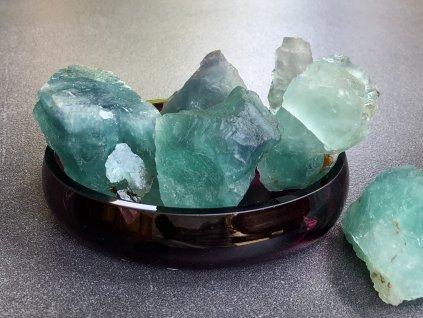 surové minerály, fluorit surový