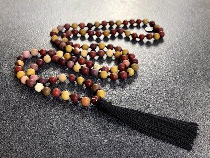 náhrdelníky z minerálů, mála náhrdelník mookait
