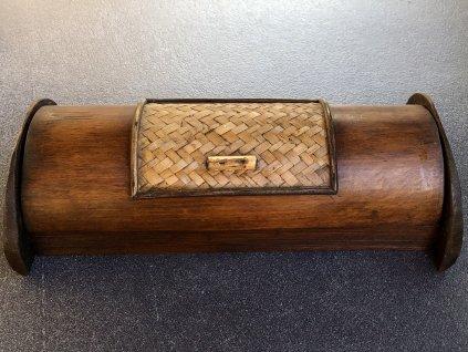 dřevěná kazeta Thajsko, ruční práce