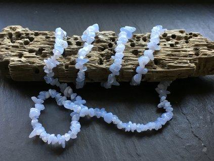 chalcedon náhrdelník