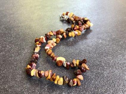 Mookait 45 cm náhrdelník