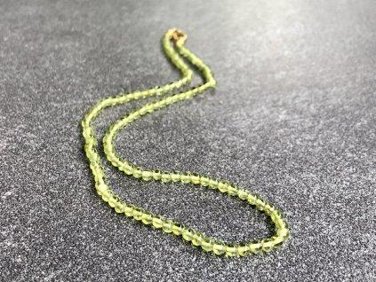 olivín náhrdelník