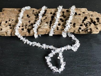 křišťál náhrdelník