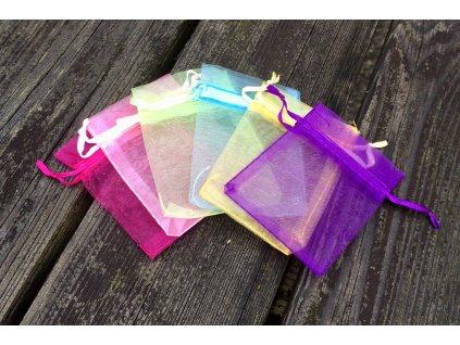 Dárkový sáček barevný
