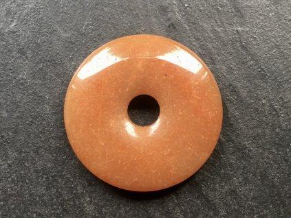 Avanturín oranžový donut