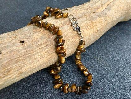 náhrdelníky z minerálů tygří oko
