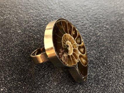 amonit prsten, prsteny z minerálů