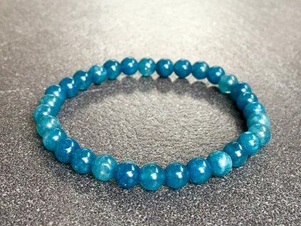 náramky z minerálů, křemen modrý náramek