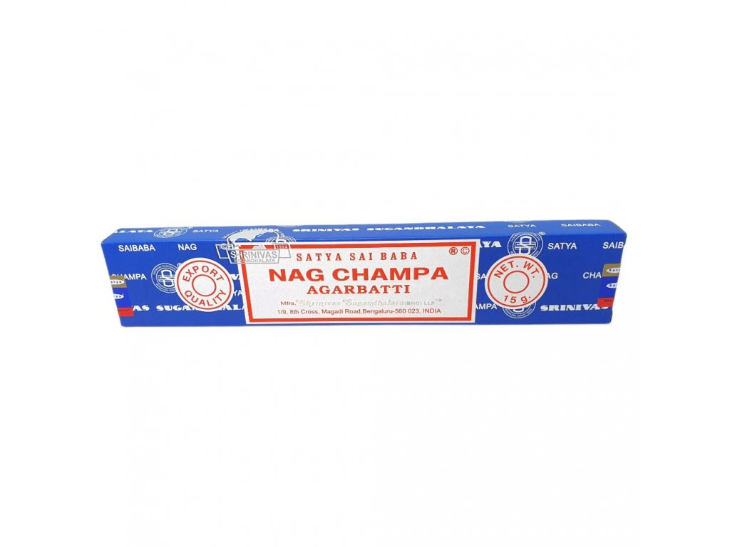 Nag Champa Agarbatti - Vonné tyčinky Satya
