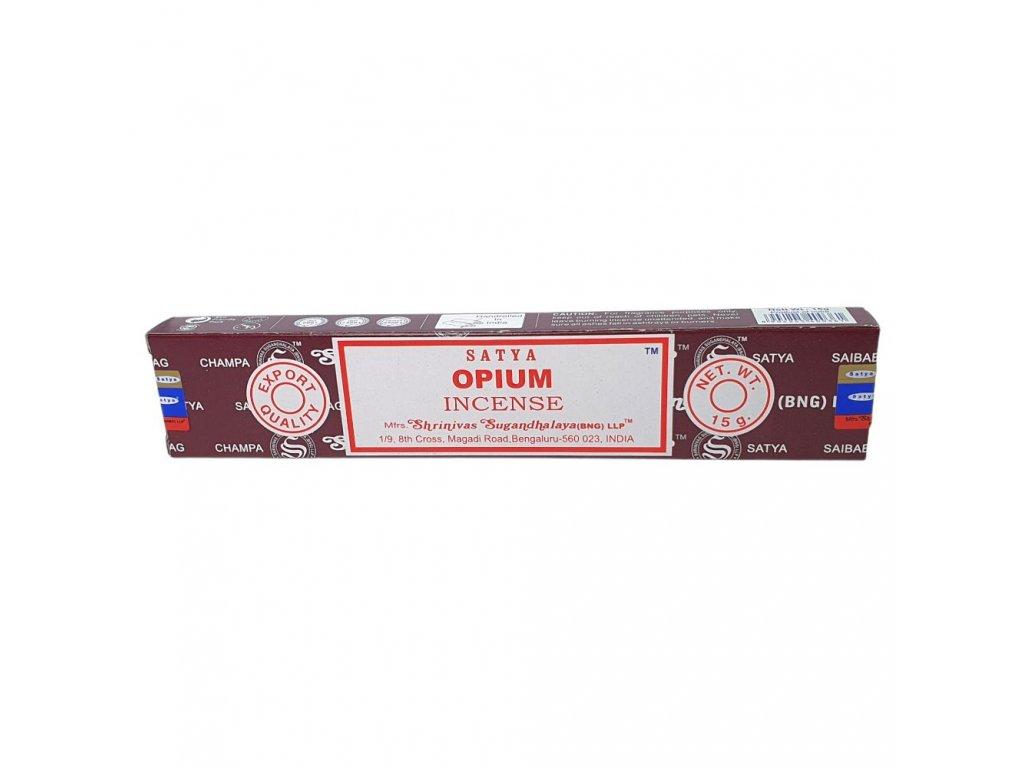 Ópium - Vonné tyčinky Satya