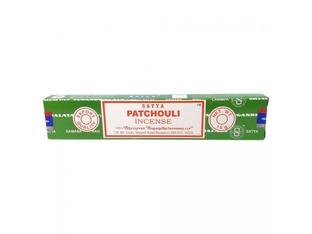 Pačuli - Vonné tyčinky Satya