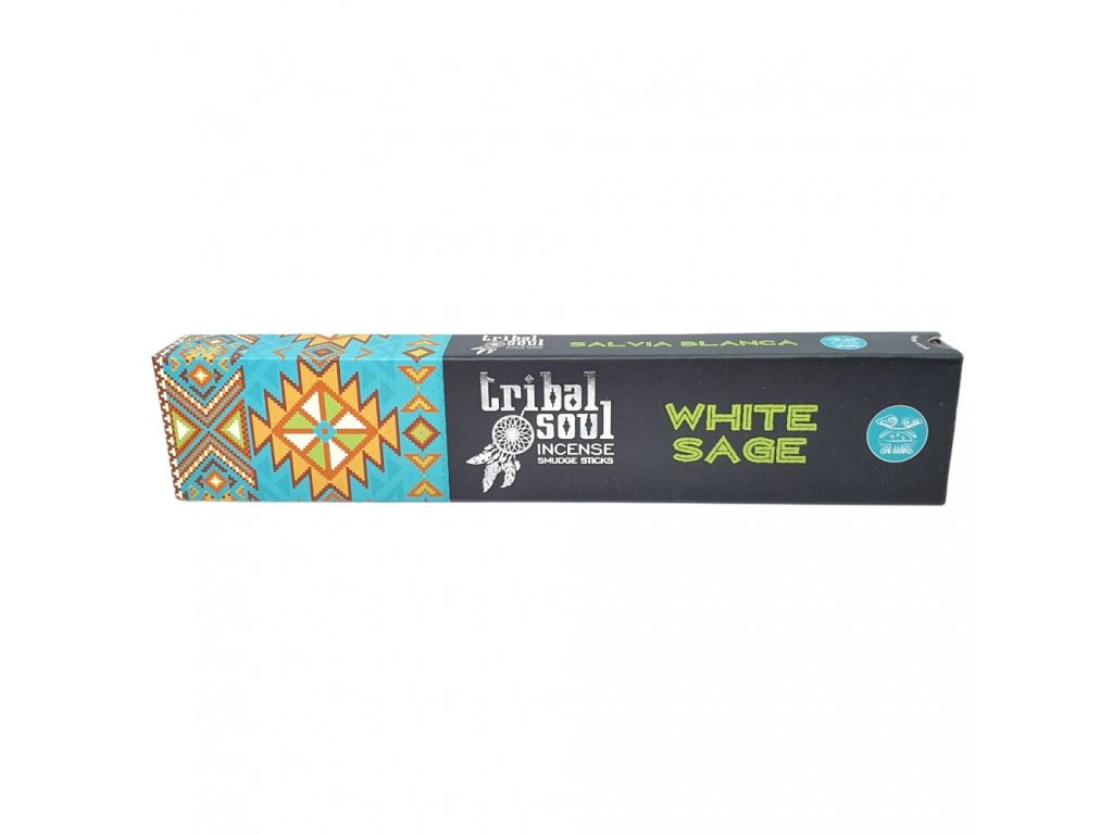 Biela šalvia - Vonné tyčinky Tribal Soul 1
