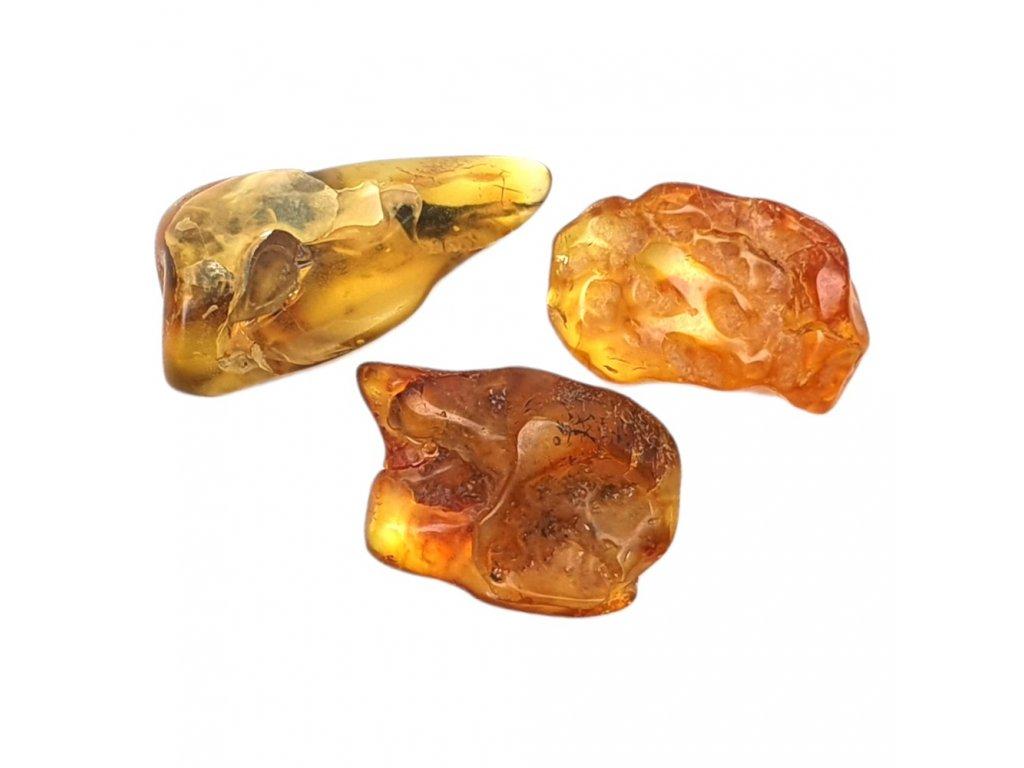 Jantár kameň prírodný