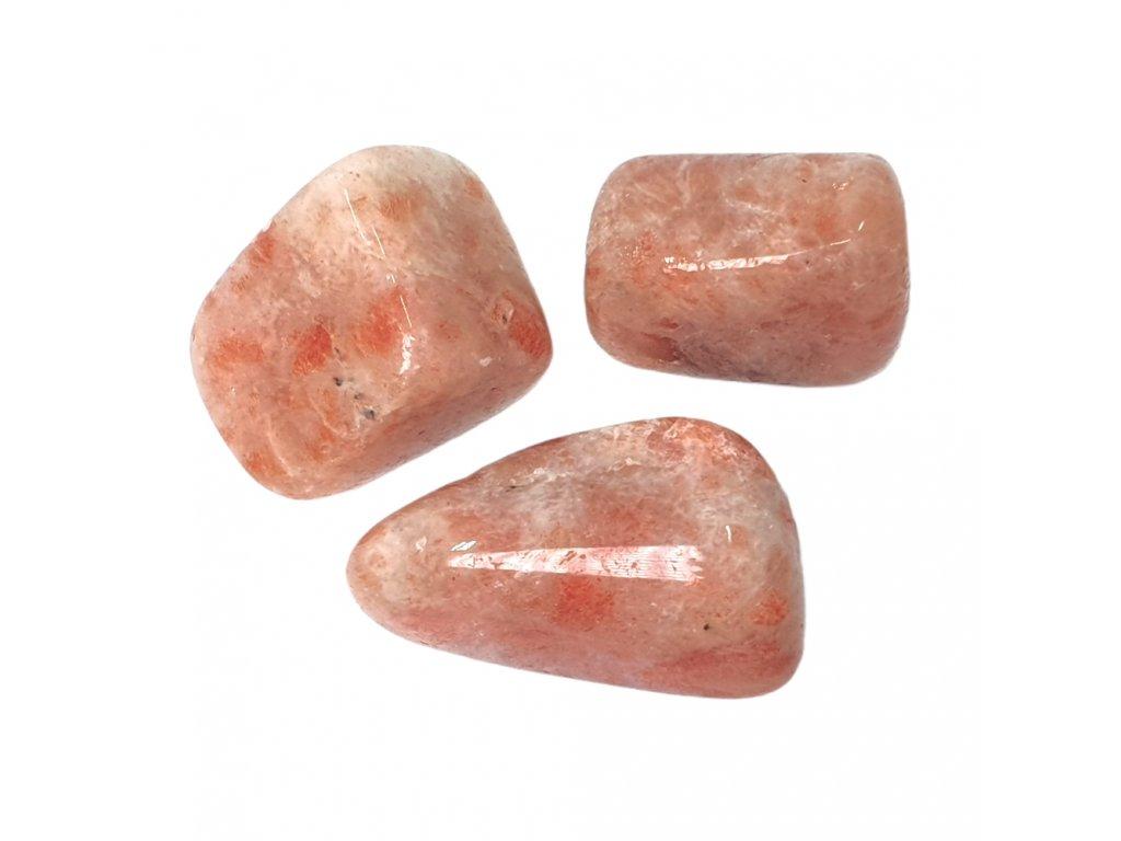 Slnečný kameň tromlovaný