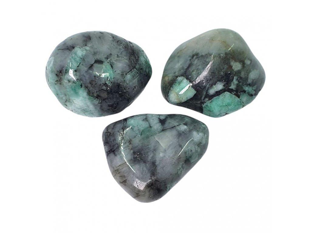 Smaragd kameň tromlovaný
