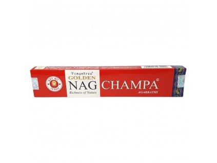Golden Nag Champa - Vonné tyčinky Vijayshree
