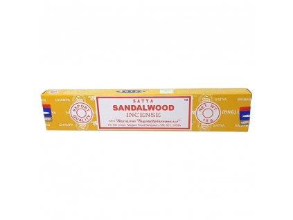 Santalové drevo - Vonné tyčinky Satya