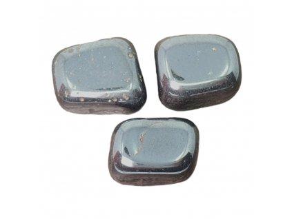 Hematit kameň tromlovaný