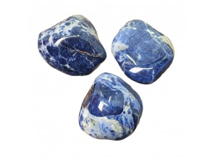 Sodalit kameň tromlovaný
