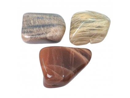 Mesačný kameň tromlovaný