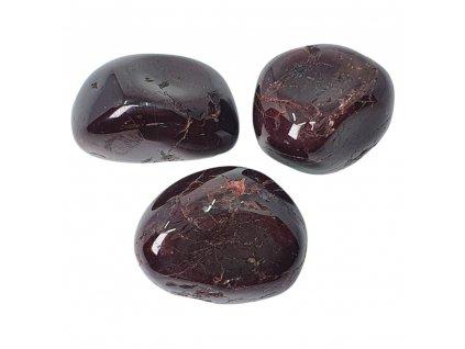 Granát kameň tromlovaný