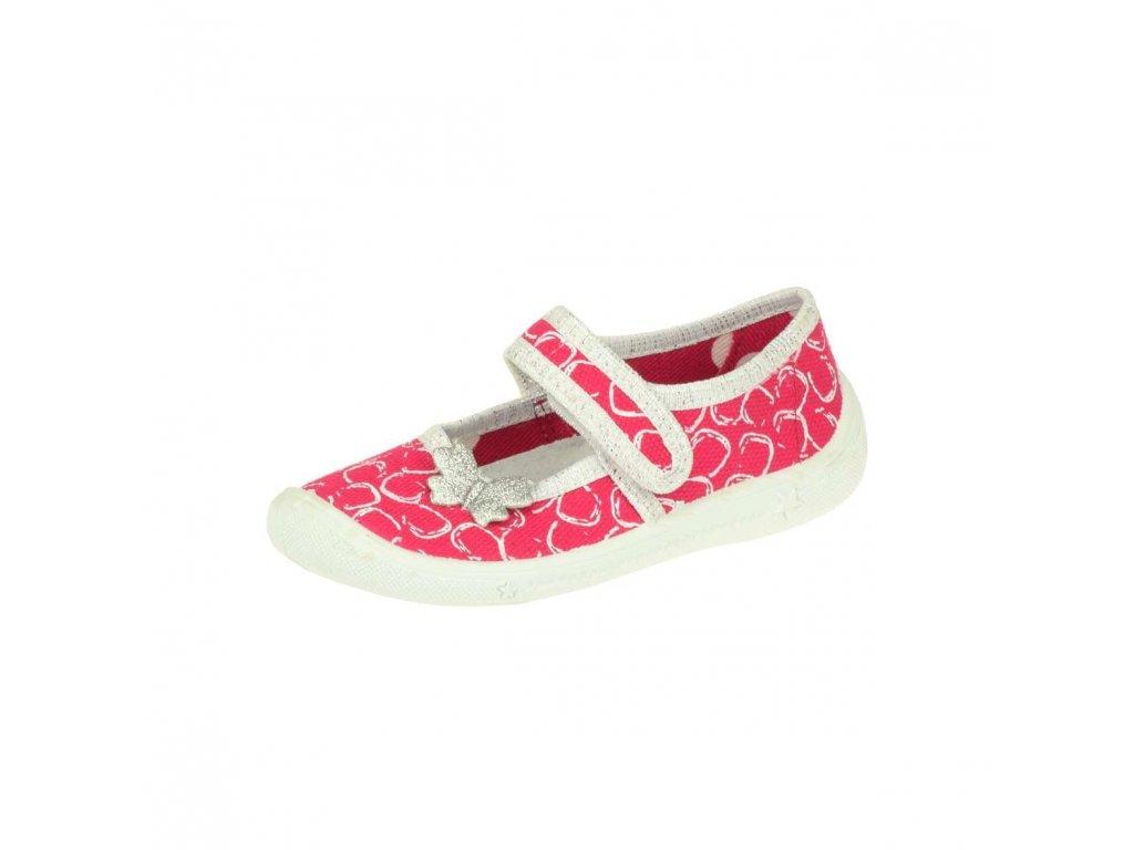 Dívčí  přezůvková papuče Peon MI/001BO