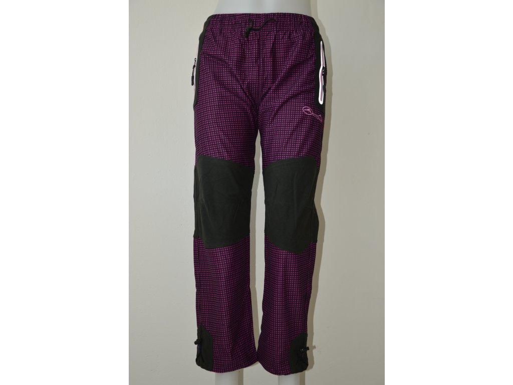 Dívčí outdoorové kalhoty Kugo s reflexními prvky