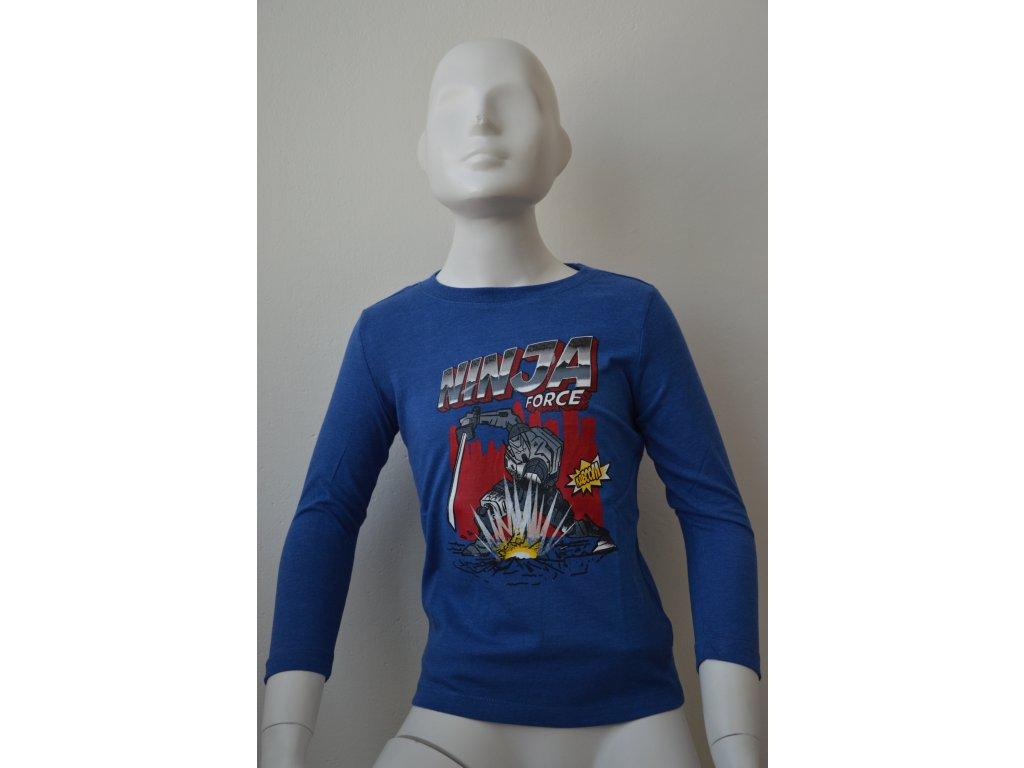 Chlapecké bavlněné triko Wolf - NINJA