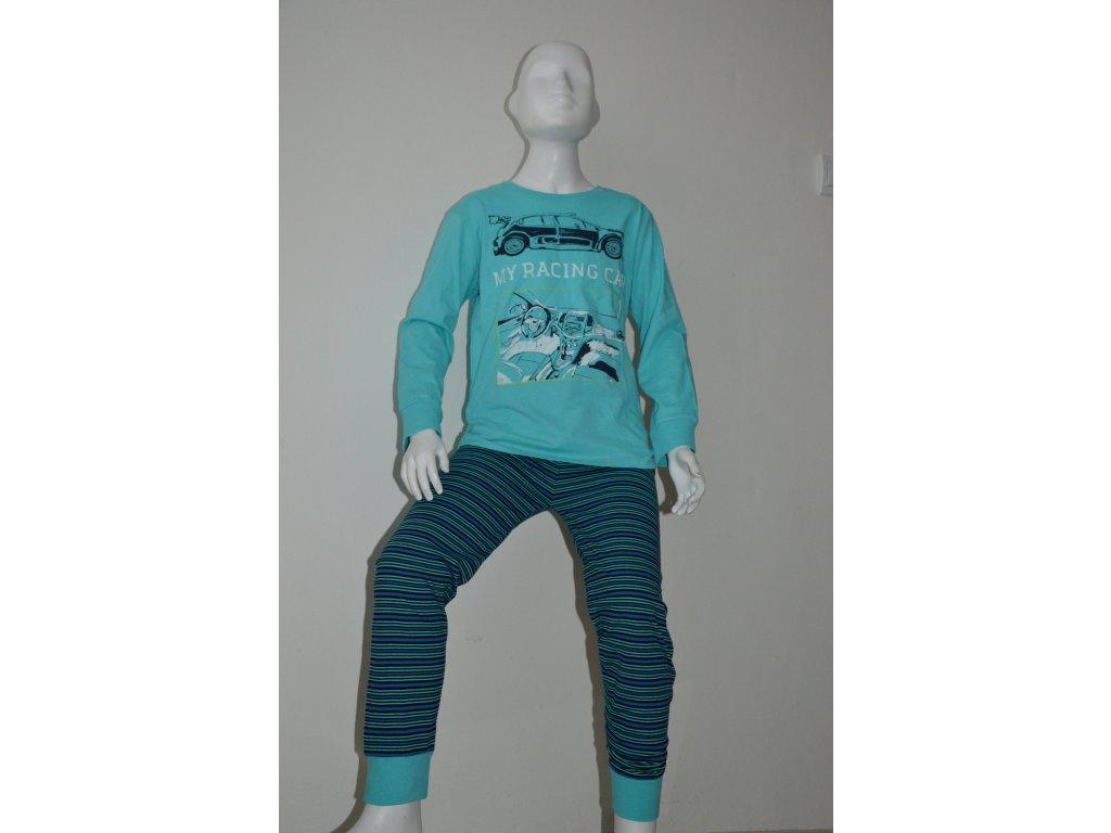 Chlapecké bavlněné pyžamo zn. Wolf s dlouhým rukávem
