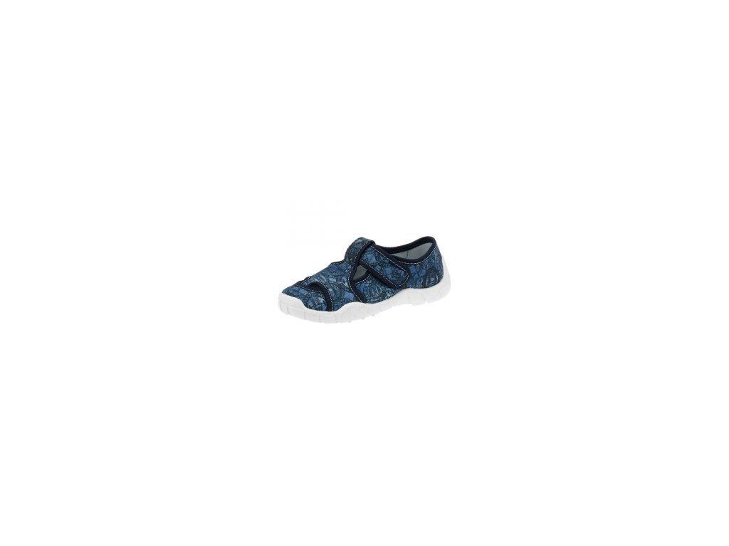Chlapecká přezůvková papuče Peon MI/018ST