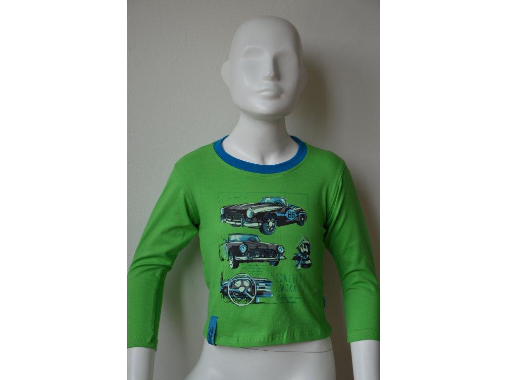Chlapecké triko Kugo - zelené