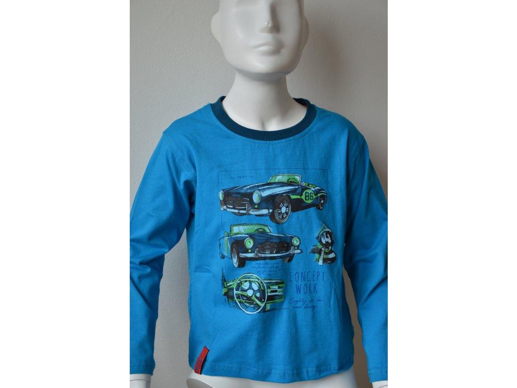 Chlapecké triko Kugo - modré