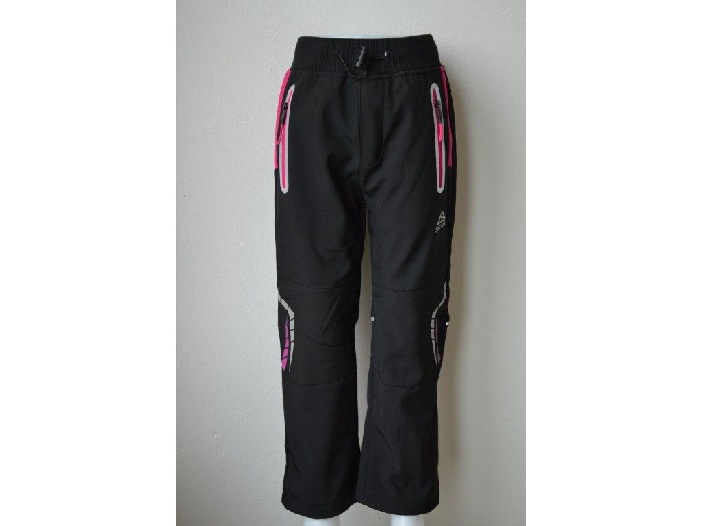 Zateplené dívčí softshellové kalhoty Kugo
