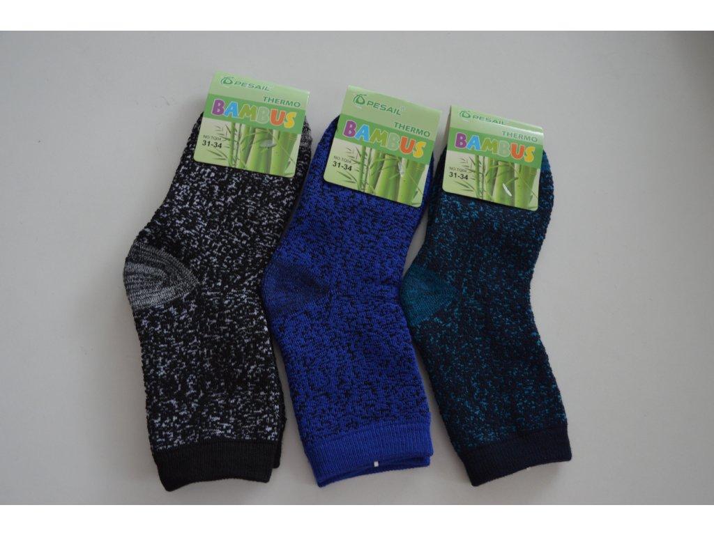 Bambusové thermo ponožky