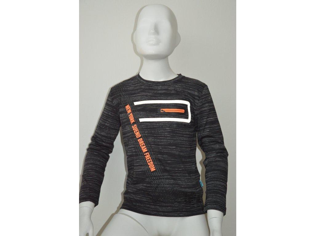 Chlapecké triko Kugo s reflexním prvkem
