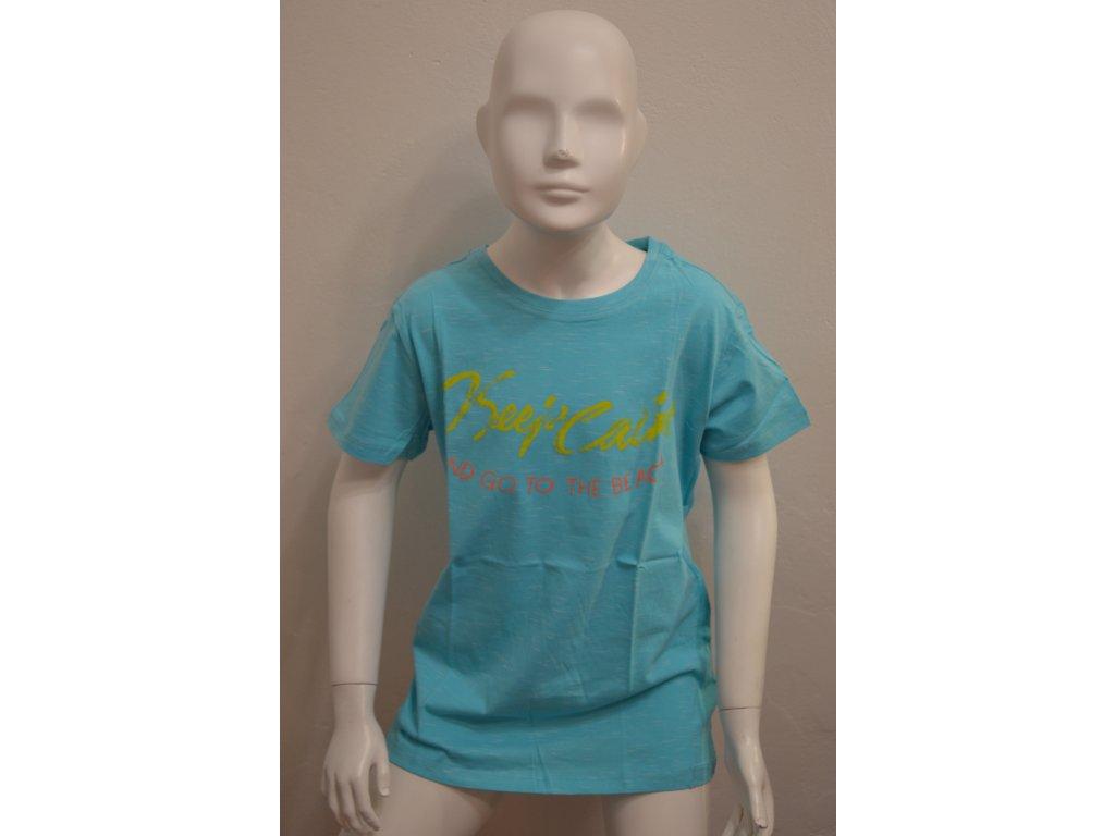 Chlapecké triko Wolf s jemným žíháným vzorem