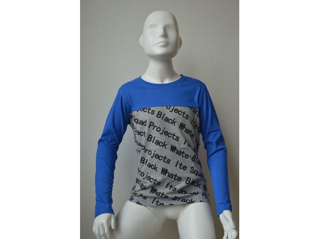 Chlapecké triko Kugo s dlouhým rukávem