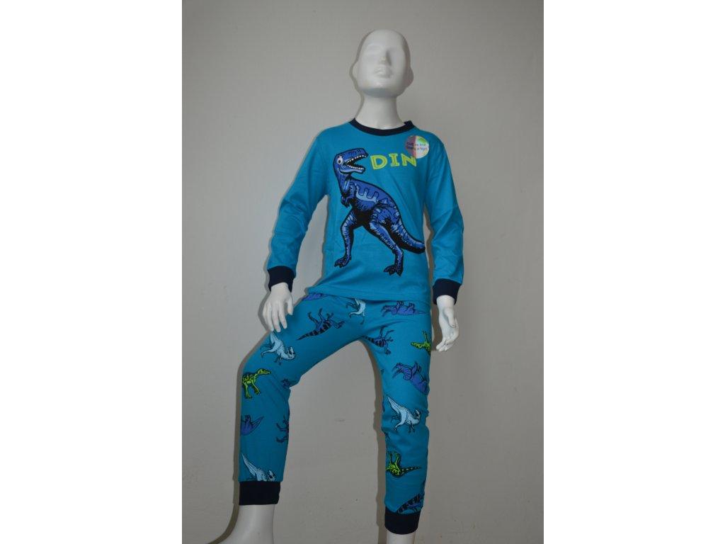 Chlapecké pyžamo zn. Kugo s motivem dinosaurů