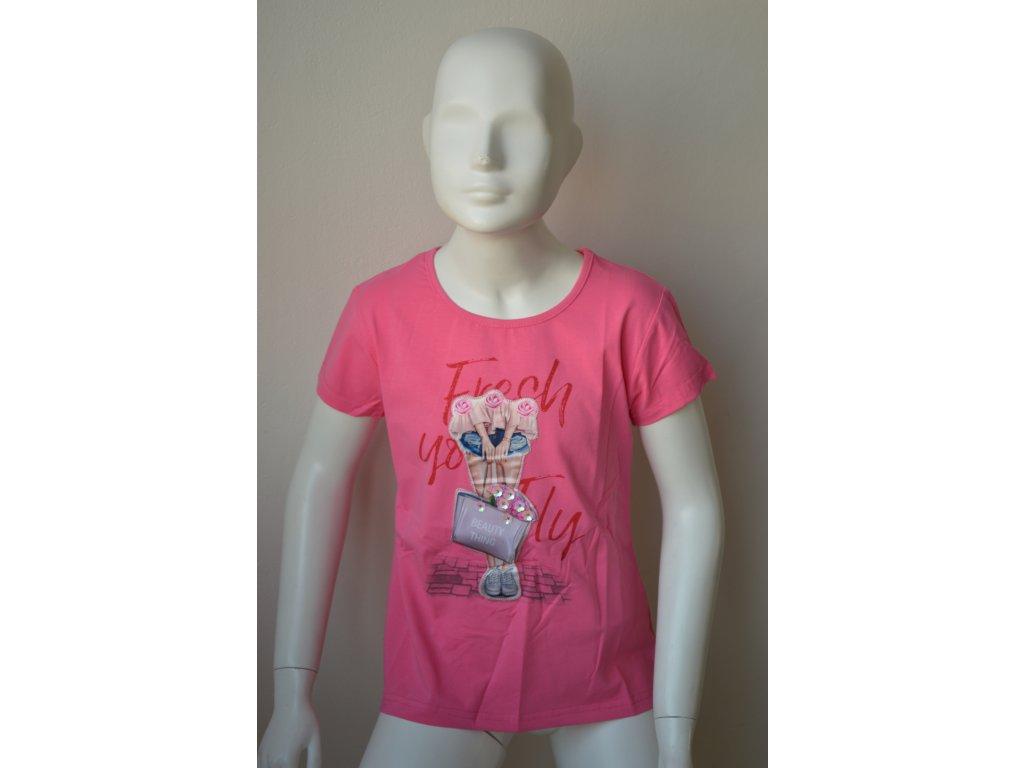 Dívčí moderní triko zn. Kugo
