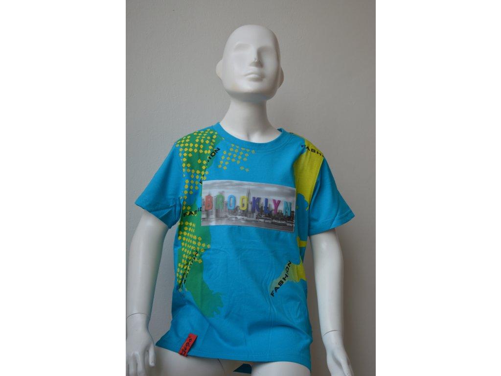 Chlapecké moderní triko Kugo s 3D obrázkem