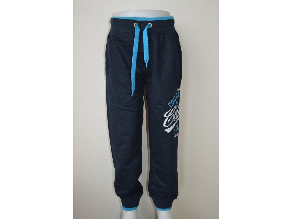 Chlapecké tepláky zn. Kugo K2012 - tmavě modrá