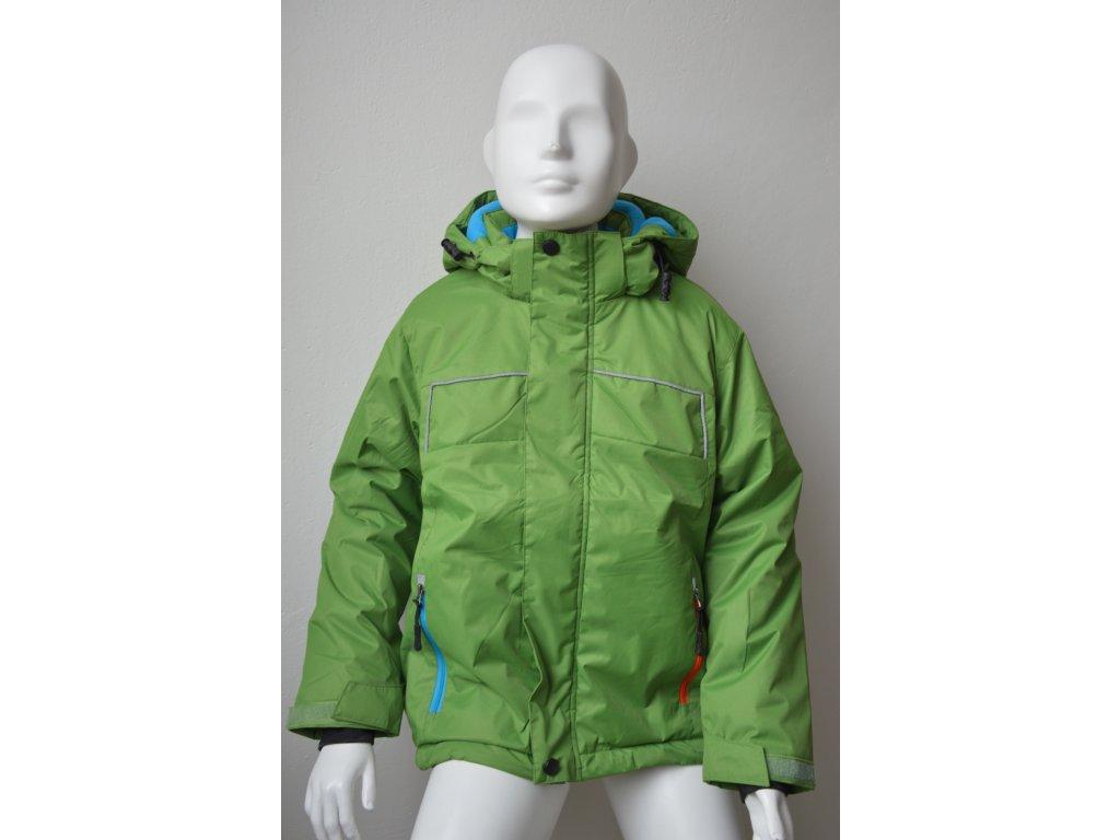 Zimní bunda zn. Kugo - zelená