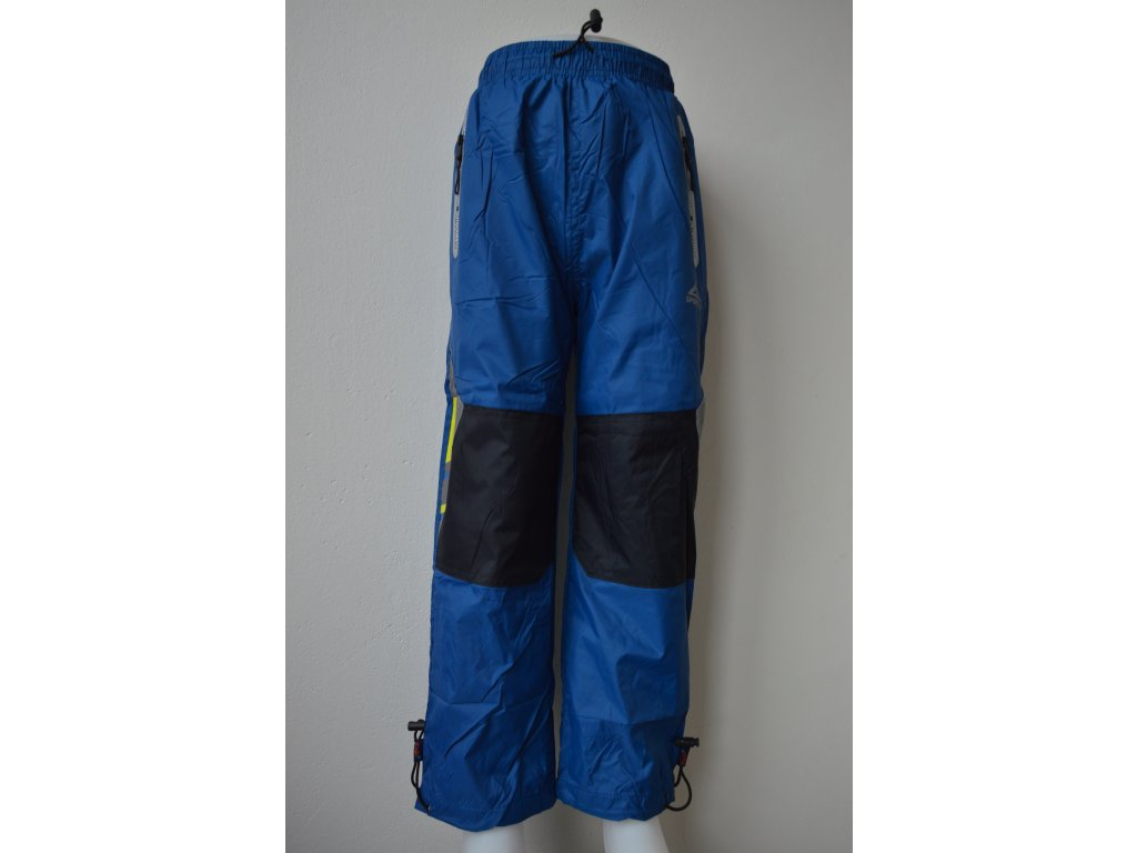 Chlapecké šusťákové kalhoty Kugo HK 9005 - petrolejové