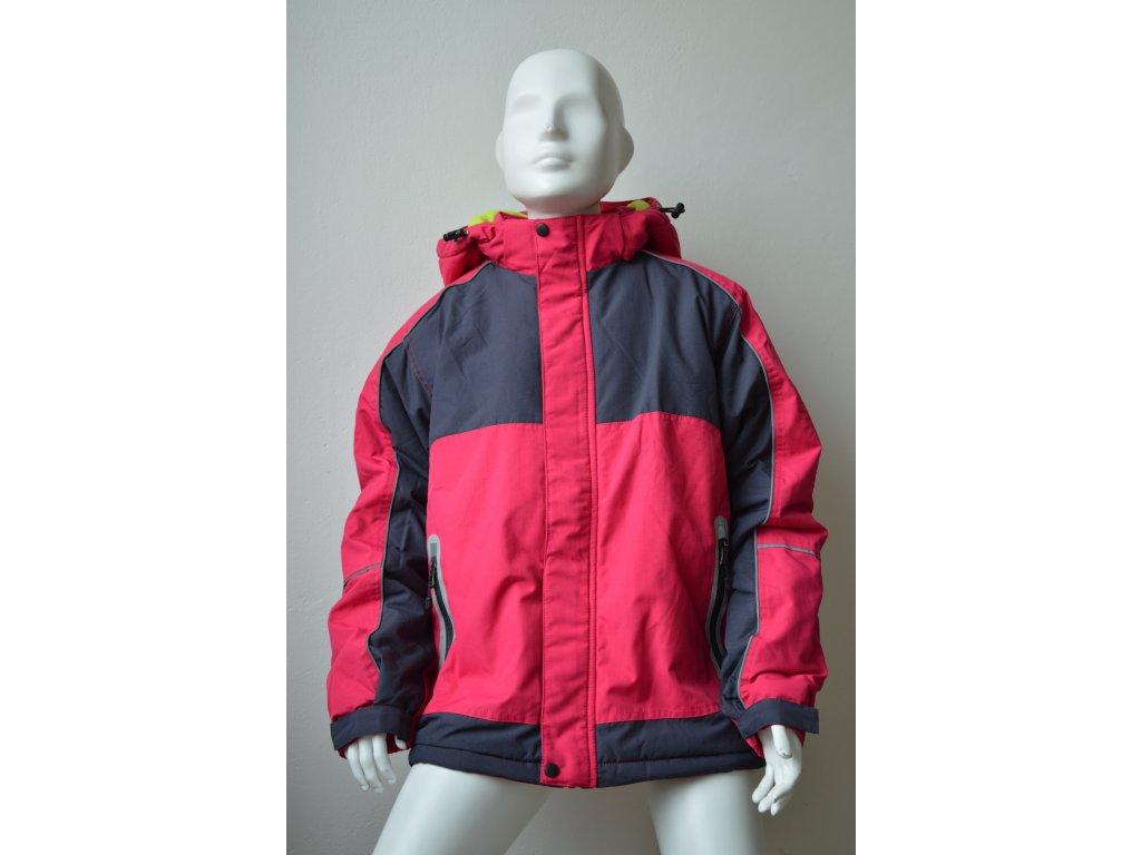 Zimní bunda Kugo - červená