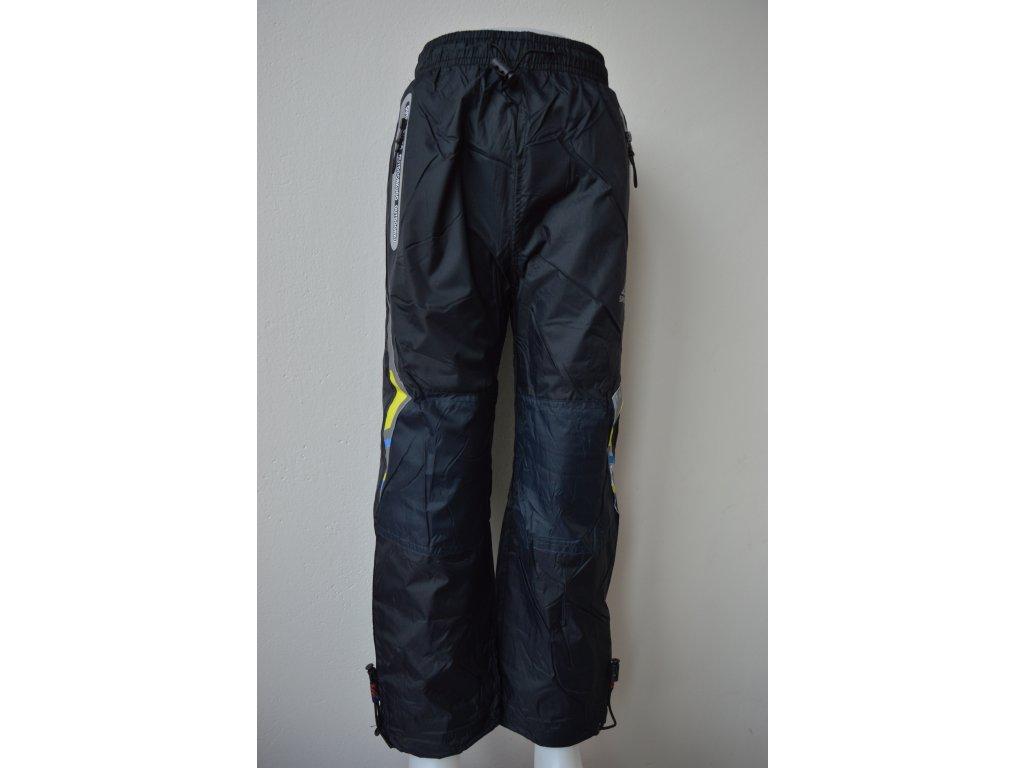 Chlapecké šusťákové kalhoty Kugo HK 9005 - černé