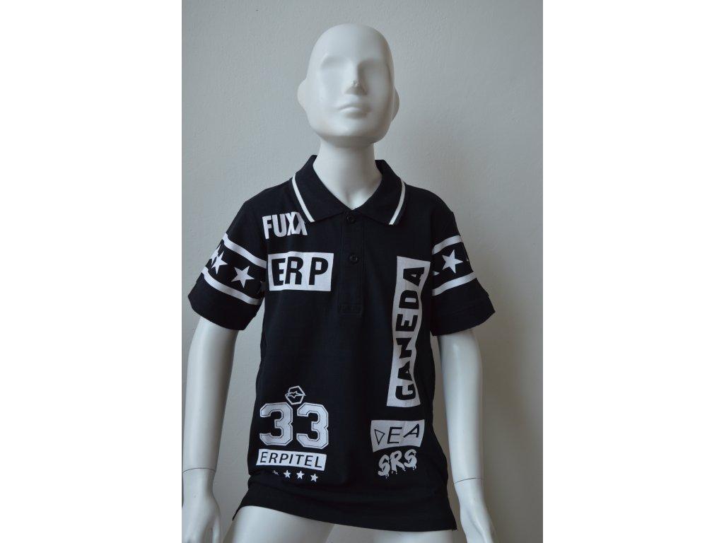 Chlapecké polo triko zn. Glo Story - černé