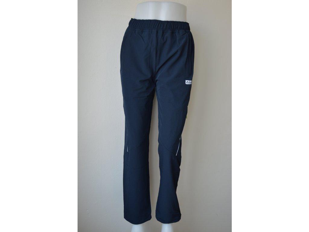 Slabé dorostenecké softshellové kalhoty Wolf B 2087 - modré