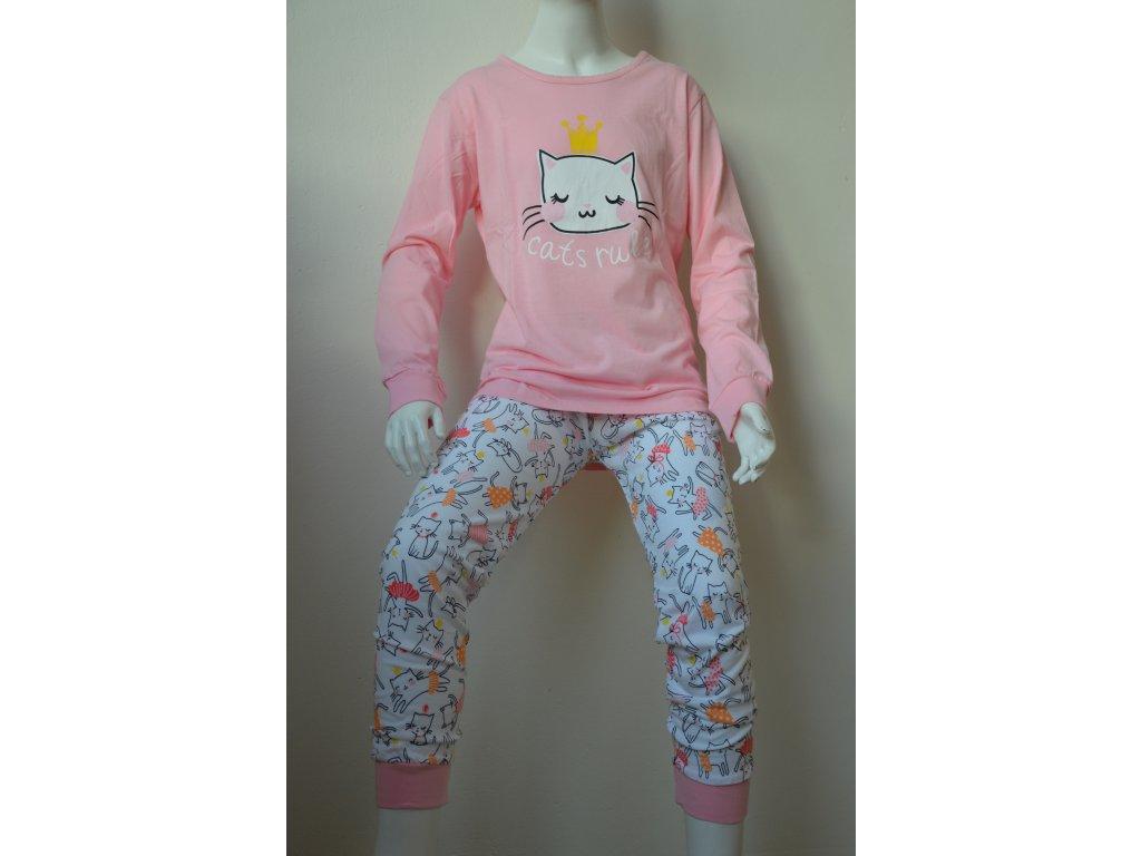 Dívčí pyžamo Wolf sv. růžové